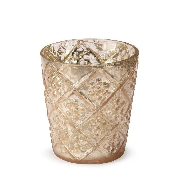 Lumignon en verre rose H7,5cm Rose - Keelung - Les bougeoirs - Bougeoirs et photophores - Toute la déco - Décoration d'intérieur - Alinéa