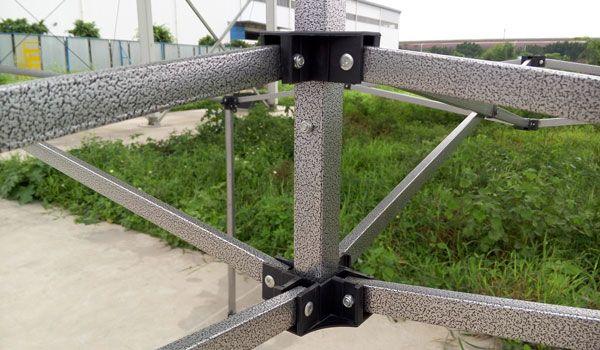 Steel frame0.4mm Black