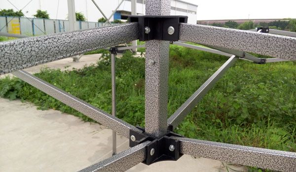 Steel frame0.4mm Black