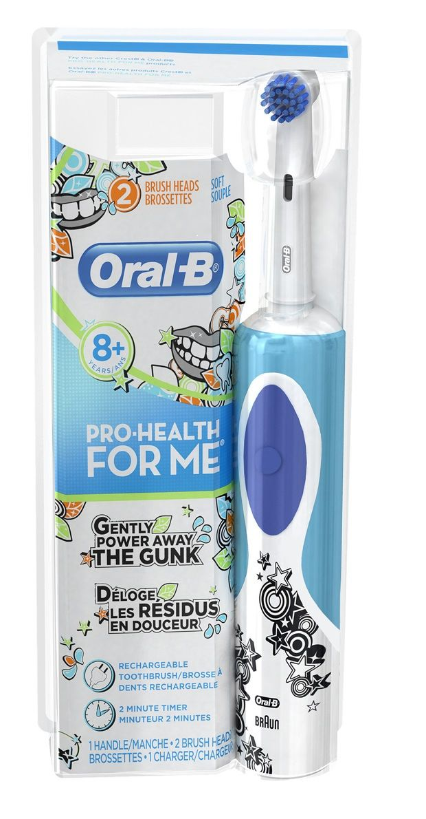 Win the Oral-B Pro-Health For Me Vitality electric toothbrush and a pack of 3 Oral-B Pro Health For Me Sensitive Clean Brush Heads (open to USA only)