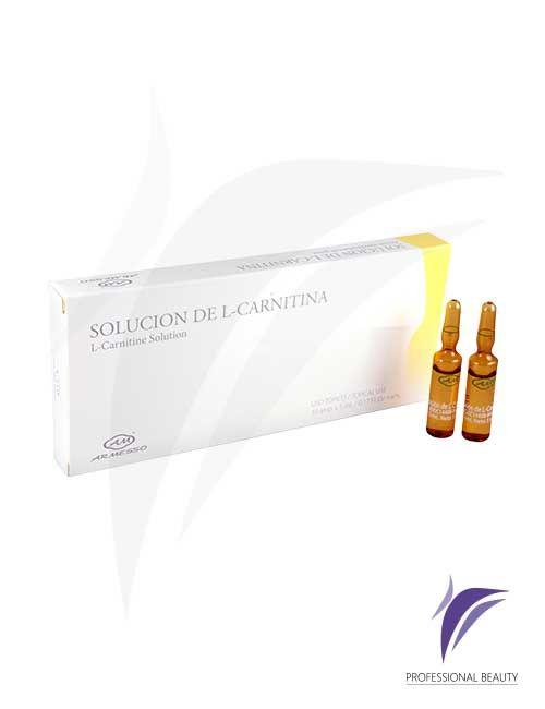 Solución de L-Carnitina Caja x10 ampolletas de 5ml: La L-Carnitina es denominada la molécula devoradora de grasa está indicada para transportar las grasas a las centrales energéticas permitiendo adelgazar, mejorar la celulitis y recuperar más energía. Recomendado para deportistas de alto rendimiento.