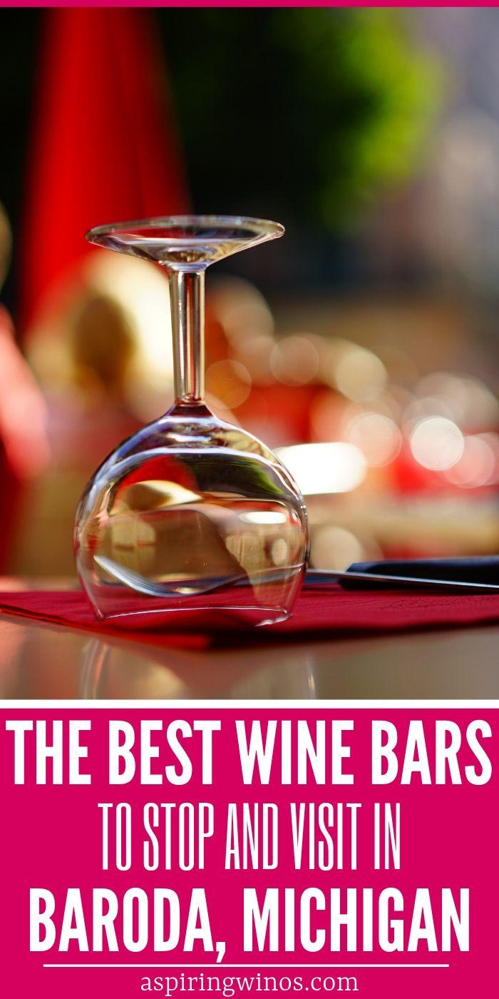 7 Fun Wine Bars To Try In Baroda Michigan In 2020 Baroda Wine Wine Infused