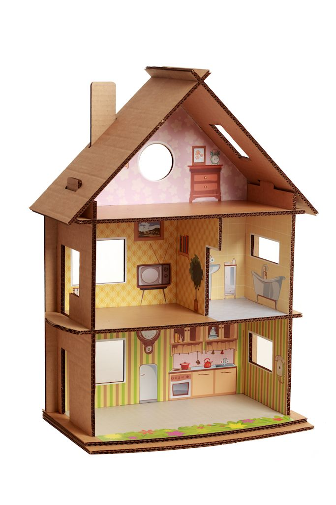Found On Cath Kidston S Fb Page In Her Dream Room In A: 127 Best Cardboard Dollhouse Images On Pinterest
