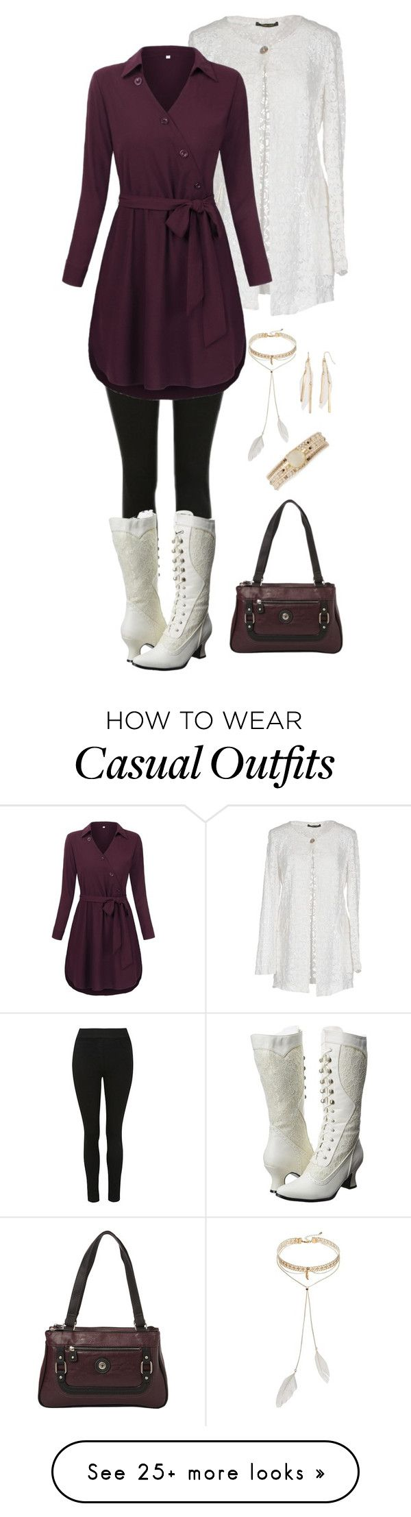 """""""Geen titel #737"""" by miriam-witte on Polyvore featuring Giorgia & Johns, Bølo, Ellie Shoes, NAKAMOL, Mudd and Mouflon"""