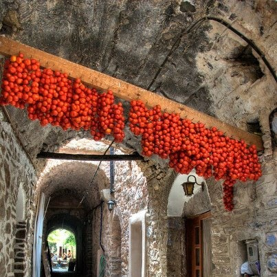 VISIT GREECE| Sun- dried tomatoes, #Chios
