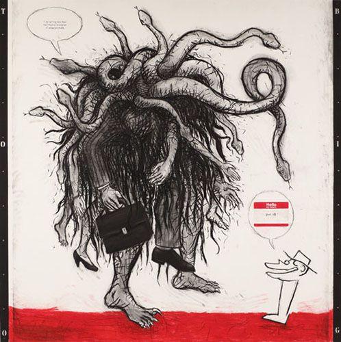 Enrique Chagoya @ di Rosa Preserve | Squarecylinder.com – Art Reviews | Art Museums