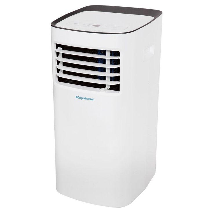Keystone - 10000-Btu Portable Air Conditioner, White