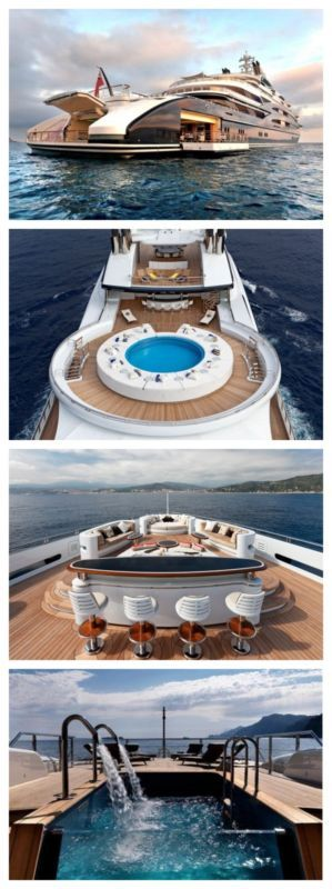 5 Super Yachts That Will Blow Your Mind! Serene was recently made famous for chartering Bill Gates for $5m/week. WOW!