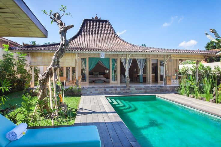 Luxurious and Fresh Modern tropical 2 bedroom Villa Ubud Indonesia, Bali,. The villa is named Mana Sari, the latest in tropical design and architecture, recycled and reclaimed wooden houses with our modern and comfortable touches.
