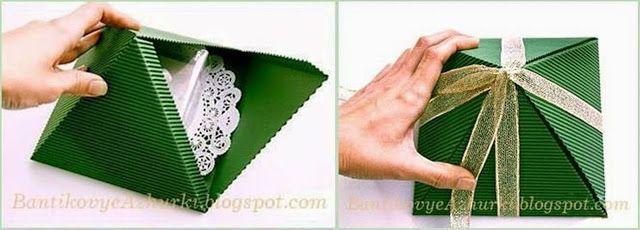 MENTŐÖTLET - kreáció, újrahasznosítás: karácsonyi csomagolás