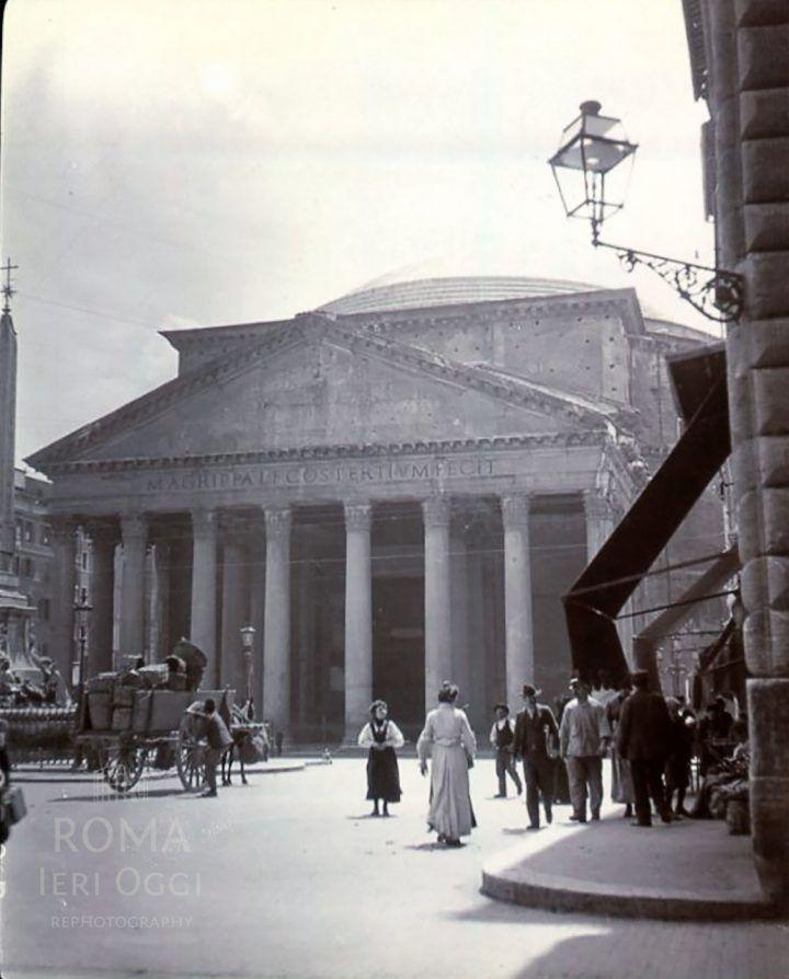Piazza della Rotonda (1905 ca)