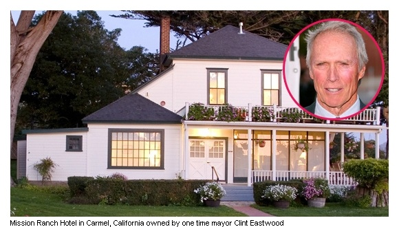 Mission Ranch Hotel In Carmel California Owned By One Time Mayor Clint Eastwood