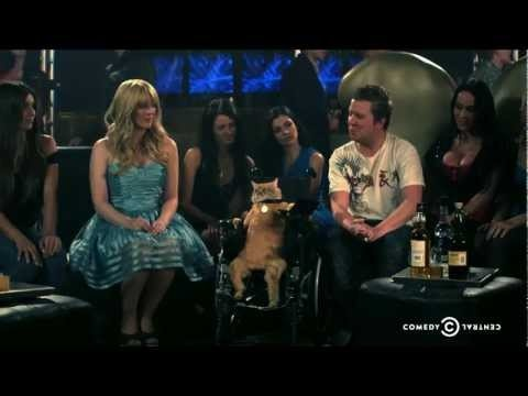 NIck Swardson's Pretend Time wheelchair cat hahahaha
