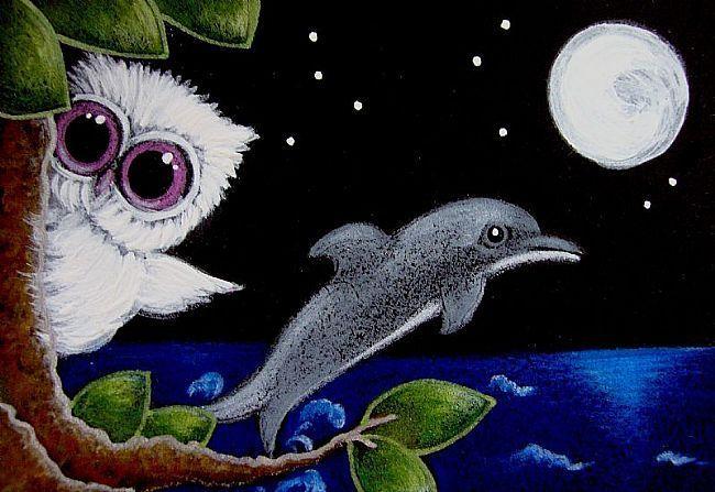 Google Image Result for http://www.ebsqart.com/Art/Gallery/Media-Style/716928/650/650/TINY-ALBINO-OWL-A-DOLPHIN-VISIT.jpg