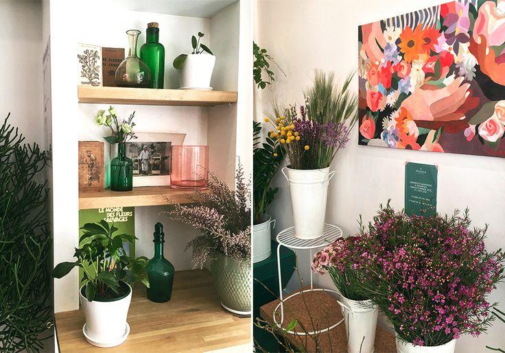 De la gourmandise et des fleurs  peonies, paris, flowers, cafe, love, bar,