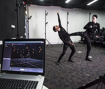Playing with the Motion Capture technology at JMC Academy! www.jmcacademy.edu.au