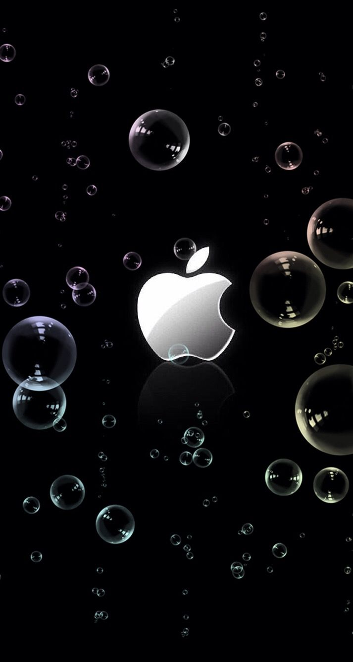 Wallpaper iPhone Apple⚪️