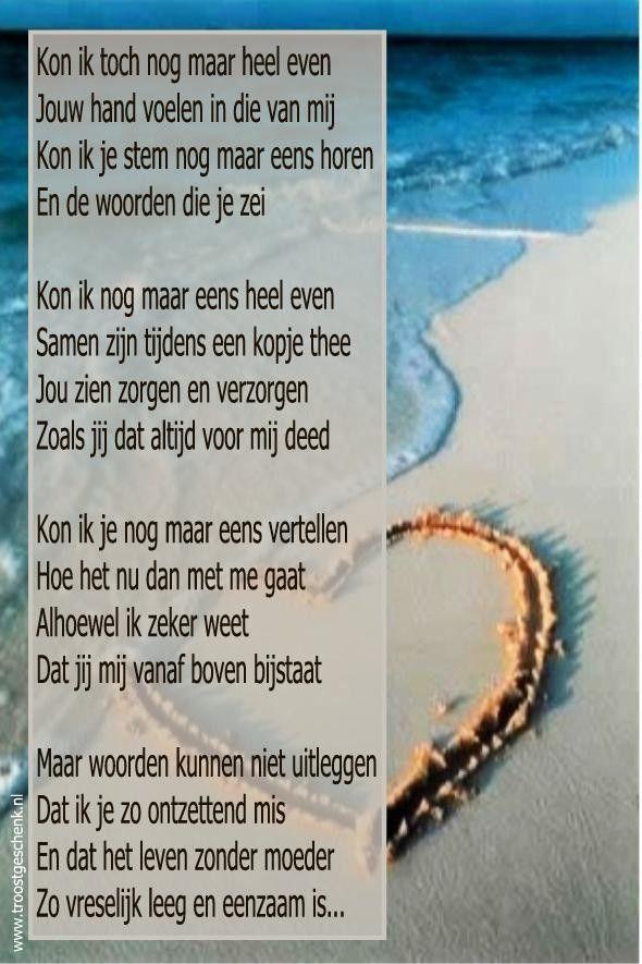Gedicht Moederdag Eenzaam