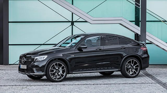The New Mercedes Amg Glc 43 4matic Coupe With Images Mercedes
