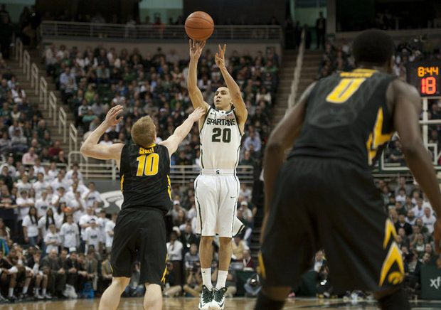 Michigan State's Travis Trice resumes role as Spartans' zone breaker, expert reliever   MLive.com