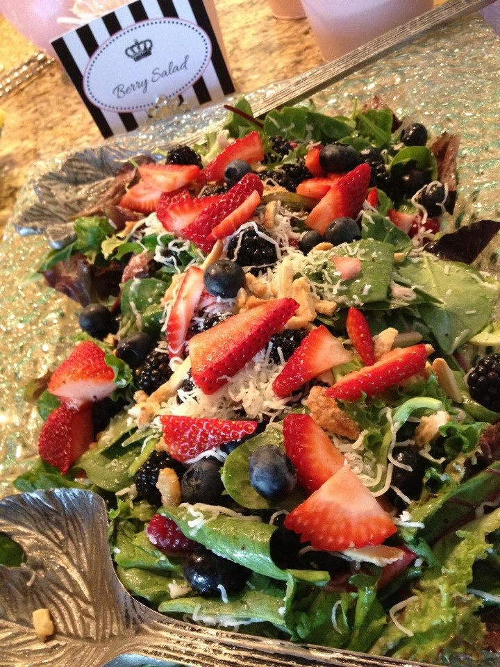 Yummy Berry Salad