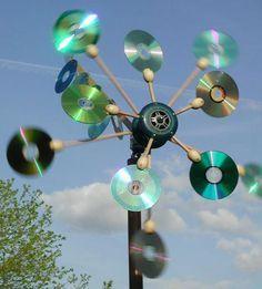 Idées de recyclage pour vieux CD !