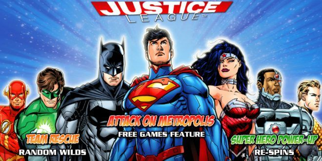 Play DC Comics Justice League Slot for Free