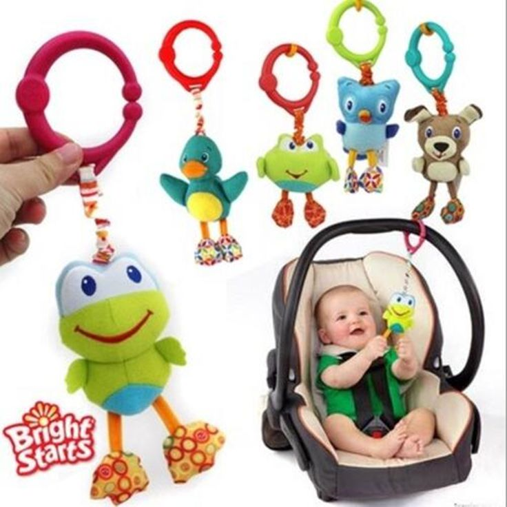 American Quality Baby Toys Colorful Cute animal pendant for Stroller and Crib Black dog Green frog owl dolls #>=#>=#>=#>=#> Click on the pin to check out discount price, color, size, shipping, etc. Save and like it!