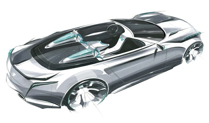 Car Ferrari Images Car Sketch Design Photoshop Marker