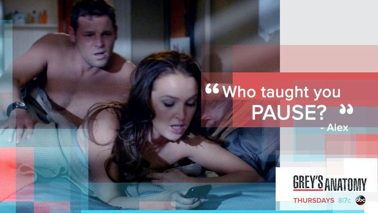 """Who taught you pause?"" Alex Karev to Jo Wilson, Grey's Anatomy quotes"