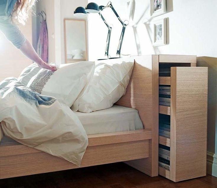 Las 25 mejores ideas sobre almacenamiento oculto en - Decorar cabeceros de cama ...