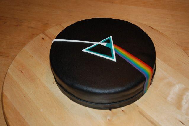 Pink Floyd Cake Images : Dark Side Of The Moon (Pink Floyd Album), Chocolade Cake ...