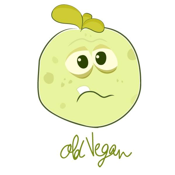 Vegans die green!