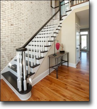 Superior Staircase Wall Covering Ultralight Low Cost Brick Design