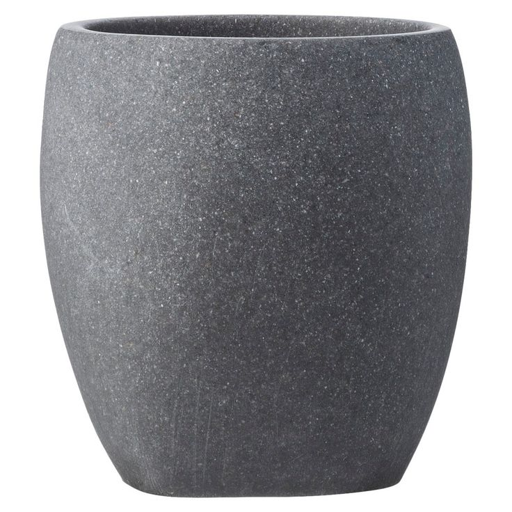 Charcoal Stone Tumbler, Gray