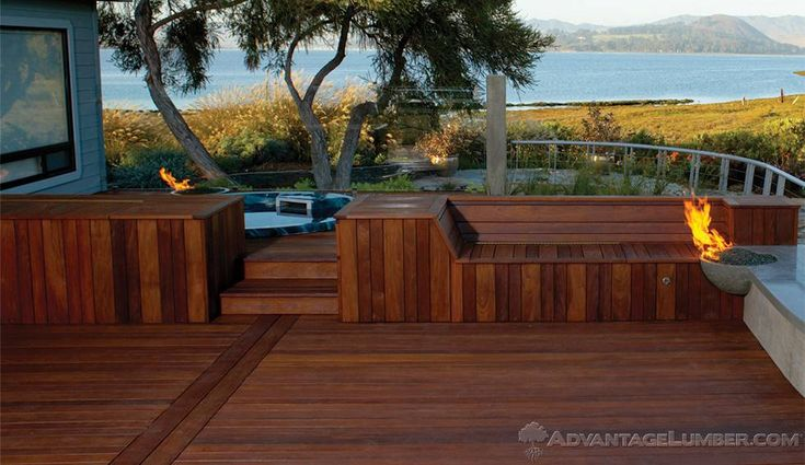 25 best ideas about ipe decking on pinterest hardwood for Fiberon decking cost per square foot