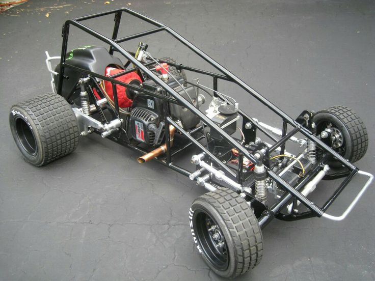 Modified midget racing chassis