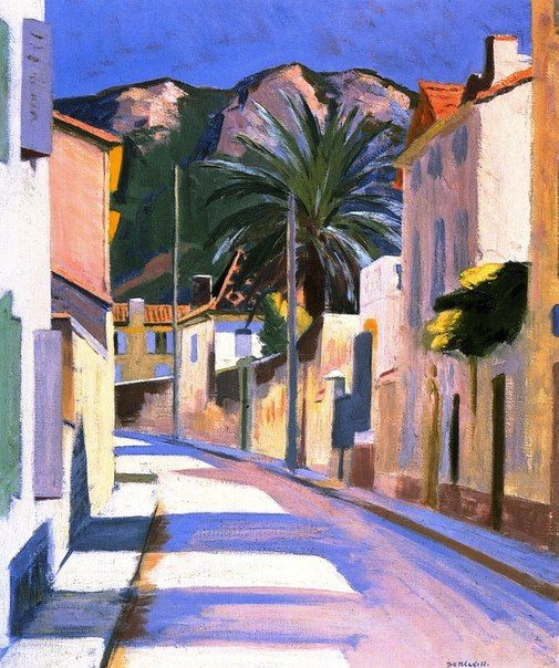 Cassis, 1924 by F C B Cadell (Scottish 1883–1937)