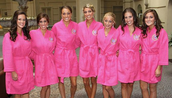 Hey, I found this really awesome Etsy listing at https://www.etsy.com/listing/161879556/monogrammed-robe-bridesmaid-gift