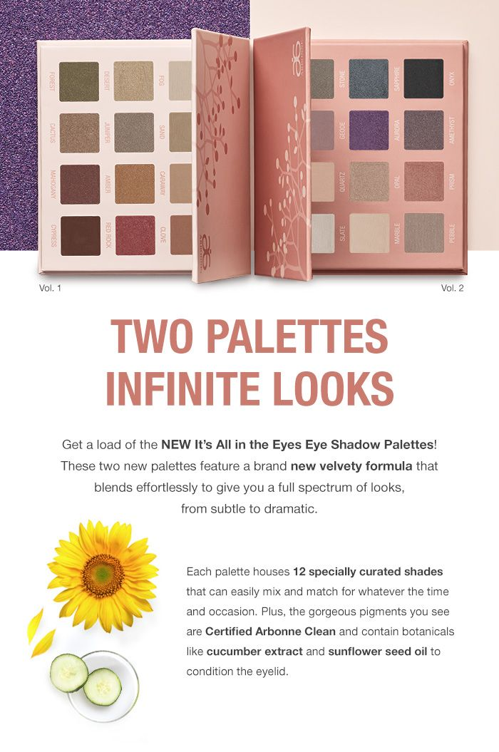 Introducing The New It S All In The Eyes Eye Shadow Palettes Each