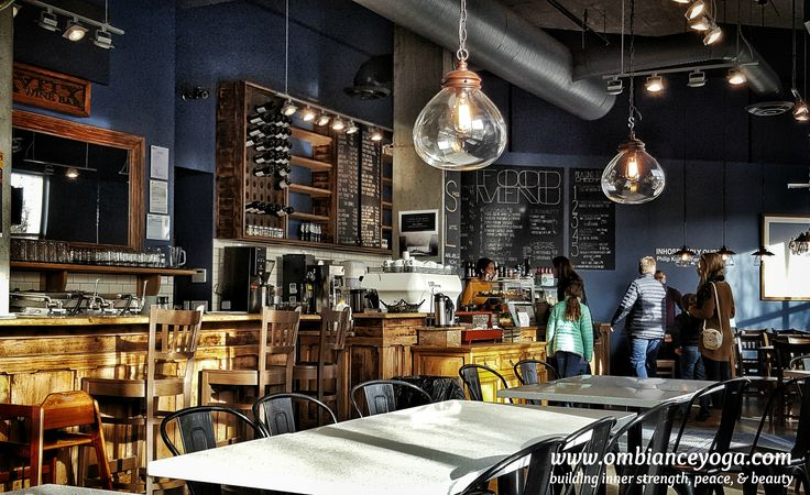 Sunday's office. Love my neighborhood vibe. Go local. Gravity Espresso and Wine Bar | Inglewood | Calgary | coffeetime