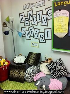 I like this reading corner