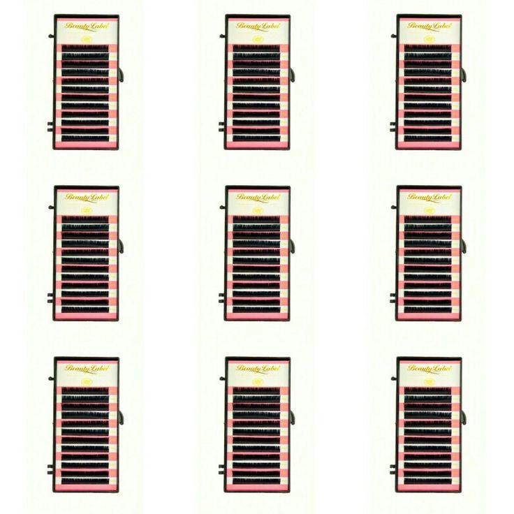 Beauty Label CC krul soft silk Dit doosje bevat 12 rijtjes wimpers, van dezelfde lengte. Deze CC krul is een krul die tussen de C+ en de D+ in zit. De wimpers zijn in veel verschillende diktes en lengtes verkrijgbaar; dikte: 0.05,0.07,0.20 en lengte : 7,8,9,10,11,12,13,14,15mm. De wimperextensions van Beauty Label zijn van zeer goede kwaliteit. Bij happywimperextensions.nl