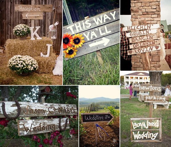 8 ways to plan a perfect country theme wedding