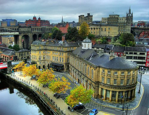 Newcastle upon Tyne, England (by CathRB)