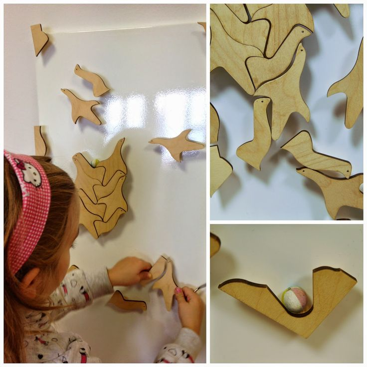 Wooden Sea Lions - the game designed by Czech designer Andrea Fišarová who has inspired by the work of Dutch graphic designer M.C. Escher