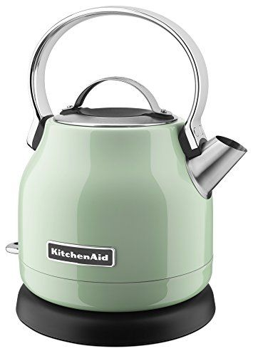 KitchenAid KEK1222PT 1.25-Liter Electric Kettle - Pistach...