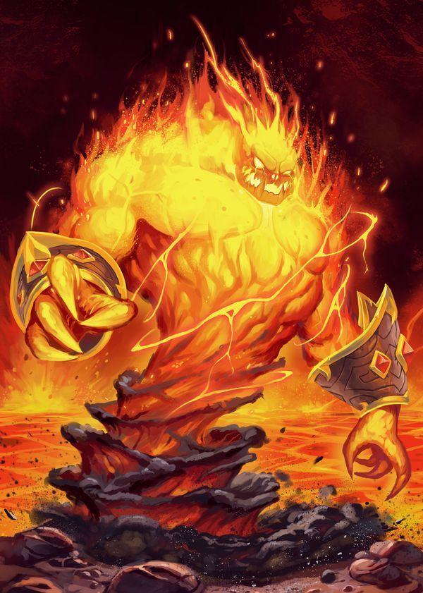 Aura incendiária Golpes de fogo e velocidade Max Carta mega