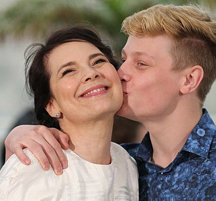 "Anne Dorval et Antoine-Olivier Pilon - Photocall du 22 mai 2014 pour ""Mommy"""