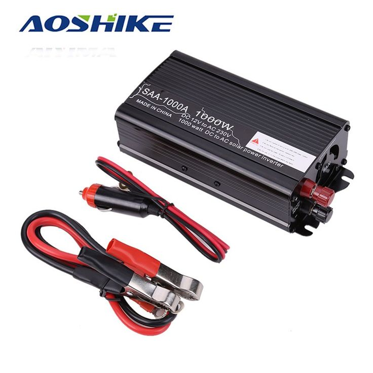 Discount! US $30.24  Aoshike 1000W Solar Power Car Inverter board 12V DC To 110V 220V AC Modified Sine Wave inversor Converter voltage transformer  #Aoshike #Solar #Power #Inverter #board #Modified #Sine #Wave #inversor #Converter #voltage #transformer  #OnlineShop